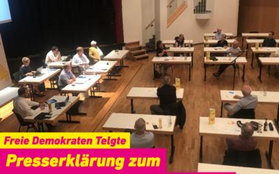 Presserklärung zum Orts- und Wahlparteitag am 03.06.2020