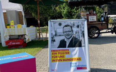 Sommerempfang der FDP-Kreistagsfraktion Warendorf und des FDP-Ortsverbands Telgte